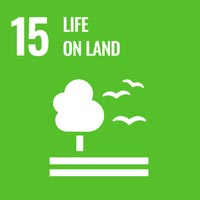 Sustainability Goal 15 - Life on Land (icon)