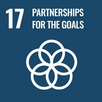Sustainability Goal 17: Partnership for the Goals (icon)