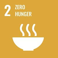Sustainability Goal 2 - Zero Hunger (icon)