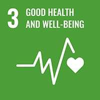 Sustainability Goal 3 - Good Health & Well Being (icon)