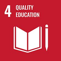 Sustainability Goal 4 - Quality Education (icon)