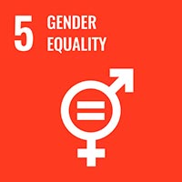 Sustainability Goal 5 - Gender Equality (icon)