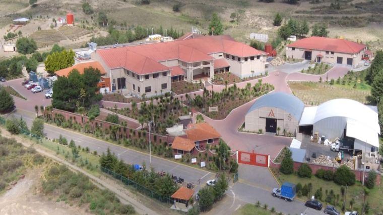 The Alltech facility in Ciudad Serdán, Puebla, México. 