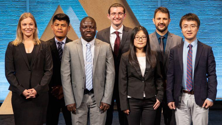 2018 Alltech Genç Bilim Adamı Yarışması kazananları