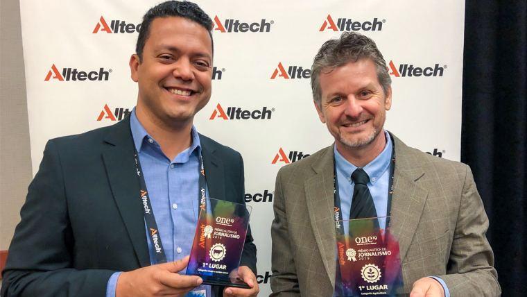 Vencedores do Prêmio Alltech de Jornalismo 2019