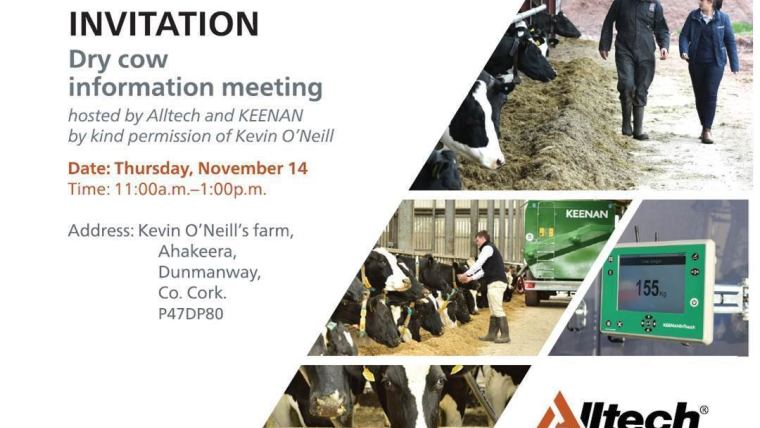 Dry Cow Information Meeting