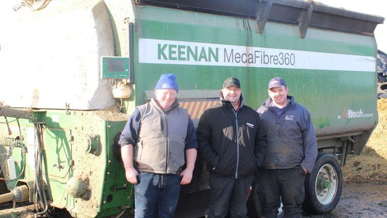 Jeremy O'Toole and team with KEENAN MechFiber360