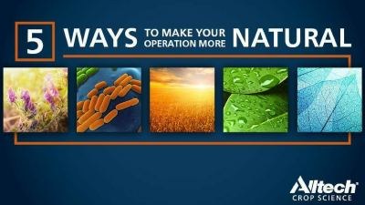 Five ways to make your crop operation more natural