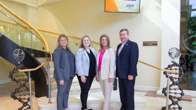 ​Evelyn Greene, president-elect of American National CattleWomen, visits Alltech Global Headquarters in Lexington, Kentucky.