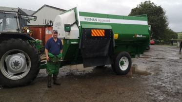 Robert Butterfield with his sixth KEENAN