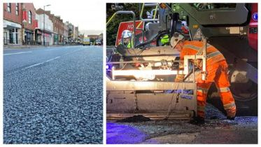 Work being done on Carlisle's Lowther Street