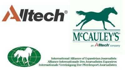 McCauley's, Alltech and the International Alliance of Equestrian Journalists announce 2017 A+ Award winners