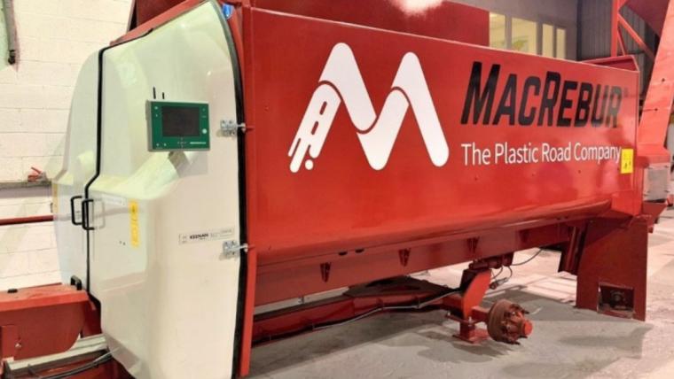 MacRebur MechFiber Machine