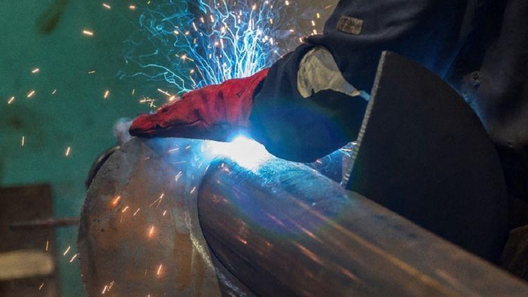 KEENAN production team welding