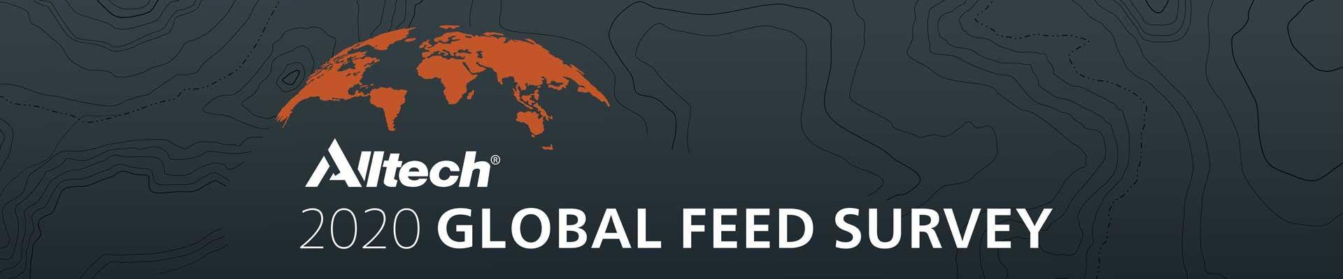 Alltech Global Feed Survey 2020 header image