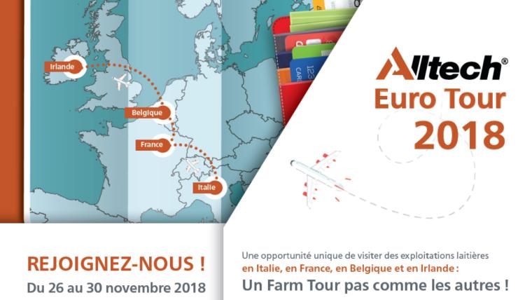 alltech euro tour visites elevage dairy