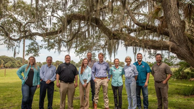 ​The Archbold–Alltech Alliance brings together two scientific disciplines, with ecologists from Archbold and ruminant nutritionists from Alltech, to understand the impact that cattle production can have on an ecosystem.