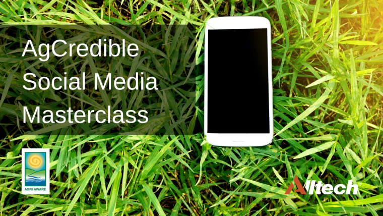 Learning opportunity on the AgCredible Social Media Masterclass