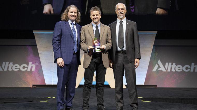 Foto do Prêmio Alltech de Jornalismo 2019