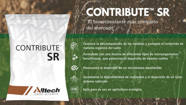 CONTRIBUTE™ SR, el nuevo Bioestimulante de Alltech® Crop Science registrado en Europa