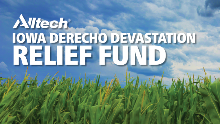 Alltech Iowa Derecho Devastation Relief Fund