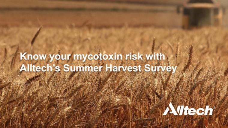 Alltech Summer Harvest Survey