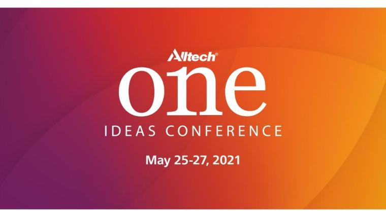 Konference Alltech ONE Ideas se virtuálně vrací v roce 2021 s exkluzivním přístupem k poznatkům zemědělsko-potravinářských odborníků.