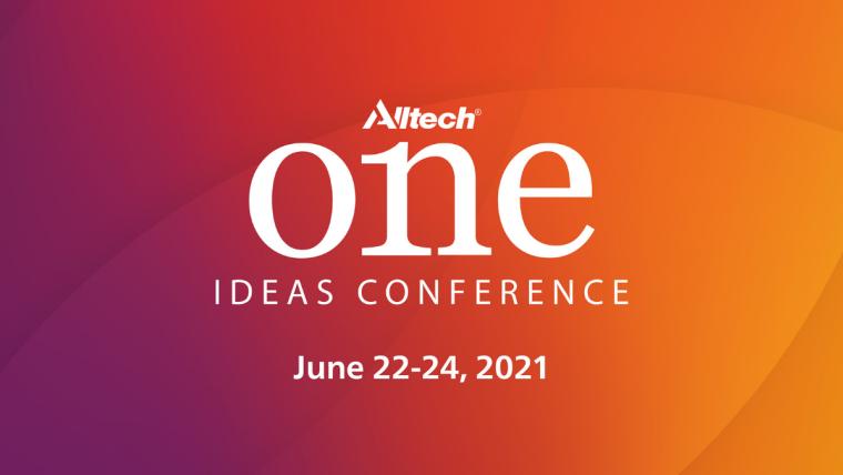 Alltech ONE Ideas Conference vuelve a celebrarse virtualmente en 2021 con acceso exclusivo a los conocimientos de expertos  del sector agroganadero
