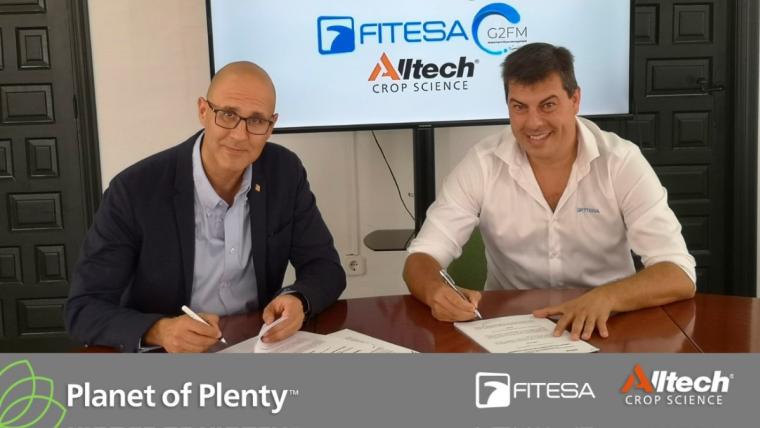 "FITESA y Alltech Crop Science Iberia arrancan el proyecto ""FITESA & ALLTECH - Planet of Plenty Partnership"""