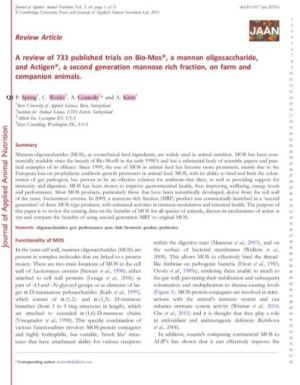 A review of 733 published trials on Bio-Mos - PDF