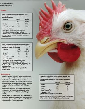 Natustat and Bio-Mos for the Reduction of Necrotic Enteritis and Salmonella Shedding in Coccidiosis-Vaccinated Broiler Chickens - Research PDF thumbnail