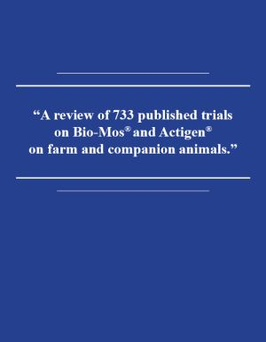 A Review of 733 published trials on Bio-Mos and Actigen