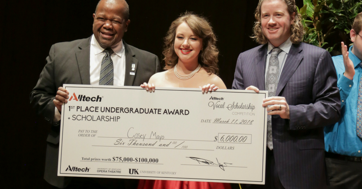 Top vocalists win life-changing prizes at 13th annual